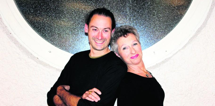 Fabian Gysling et Jacqueline Pittet